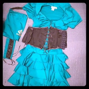 Robin Hood Girl Dreamgirl Costume Medium Complete